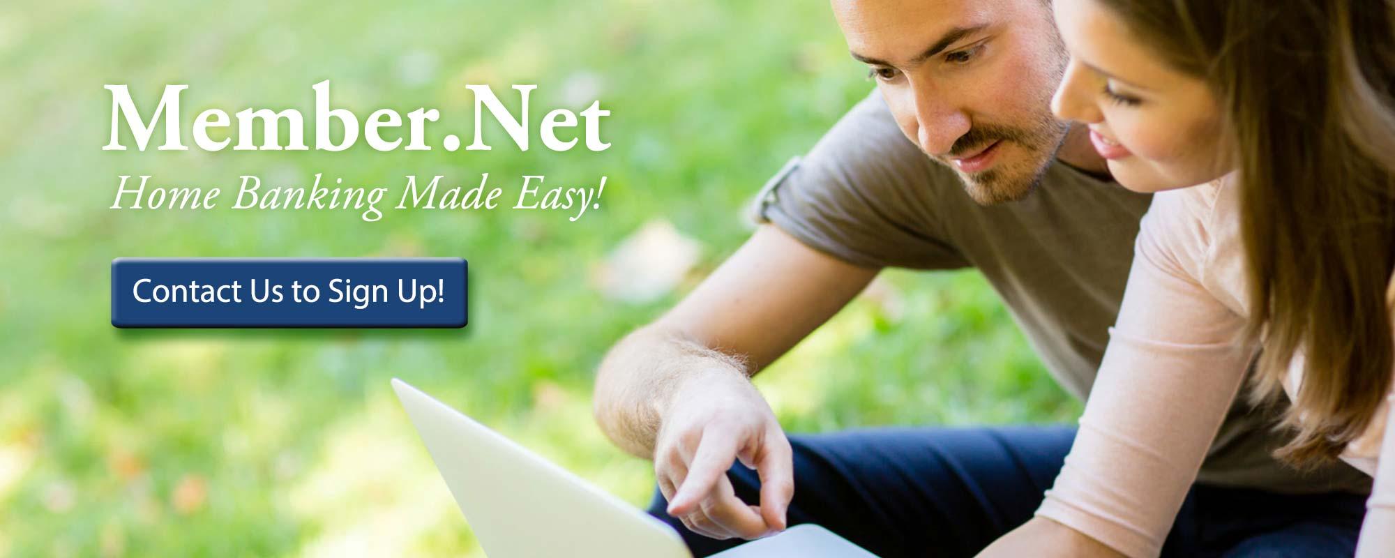 Member.Net - Home Banking made easy!